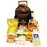 The MayDay Brand Roll and Go Survival Kit on Wheels - One Person