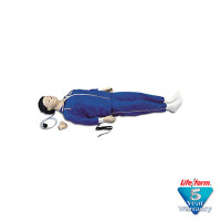 The CPARLENE® Full Mannequin w/ Electronic Connections - White