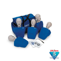 The CPR Prompt 5-Pack Adult/Child Training Mannequin - Blue