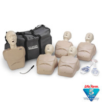 The CPR Prompt™ 5-Pack Adult/Child Training Mannequin - Tan