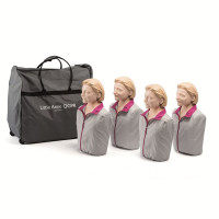 The Laerdal® Little Anne QCPR - Adult CPR Mannequin - 4 Pack