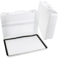 The First Aid Store™ Empty Metal Case, 36 Unit w/ Gasket - Horizontal