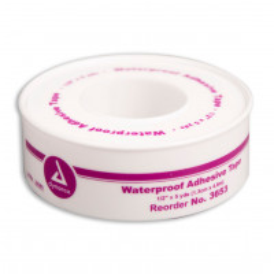 "The 1/2"" x 5 yd. Waterproof Tape - Plastic Spool - 1 Each"