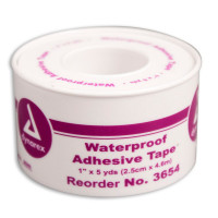 "The 1"" x 5 yd. Waterproof Tape - Plastic Spool - 1 Each"