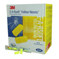 The 3M Disposable Uncorded Earplugs - 200 Pair Per Box