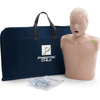 The Prestan™ Child CPR Mannequin w/ Monitor - Medium Skin