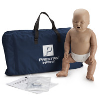The Prestan Infant CPR Mannequin w/o Monitor - Dark Skin