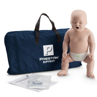 The Prestan™ Infant CPR Mannequin w/ Monitor - Medium Skin