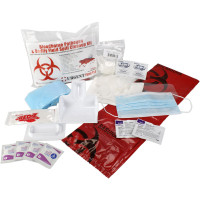 The 21 Piece Bodily Fluid Clean Up Pack / Bloodborne Pathogen Spill Kit