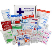The Urgent First Aid Kit Refill, 73 Pieces, ANSI A, 25 Person