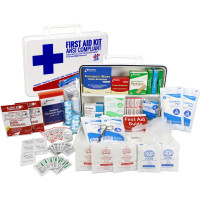 The Urgent First Aid Kit, Bulk, Plastic, 198 Pieces, ANSI B, 50 Person