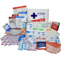 The Urgent First Aid Kit Refill, 197 Pieces, ANSI B, 50 Person