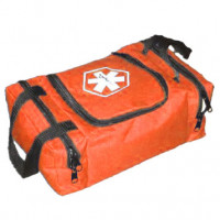 The Urgent First Aid™ Empty First Responder Bag (Jump Bag) - Orange