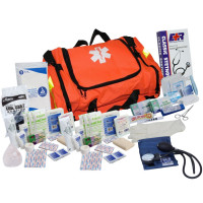 The Urgent First Aid™ First Responder Kit - 151 Pieces - Orange