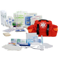 The Urgent First Aid™ On Call First Responder Kit - 147 Piece - Orange