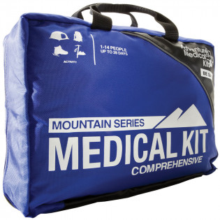Compartmentalized and water-resistant for true outdoor emergency preparedness