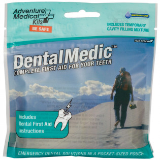 The Adventure Medical Dental Medic features proprietary DryFlex™ bags for the ultimate in ultralight, waterproof storage