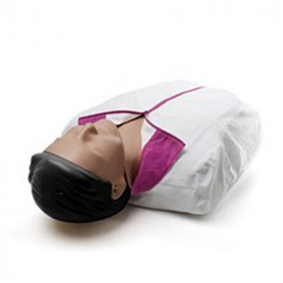 Laerdal Little Anne CPR and AED Manikin with Dark SKin