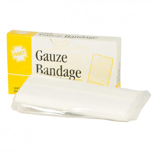 "The 4"" x 6 yd Sterile Gauze Bandage - 1 per Box"