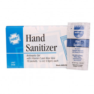 The Hand Sanitizer, 10 Per Box