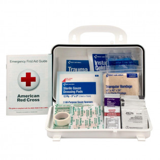 The 25 Person Basic OSHA First Aid Kit, First Aid Only