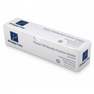 The Prestan™ CPR Practice Shields - 36 Per Box