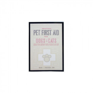 The Creative Pet Practical Pet First Aid for Dogs & Cats - Book