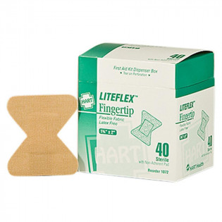The Fingertip Woven Adhesive Bandages, 40/BX