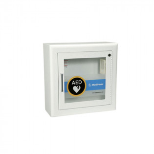 The Physio-Control AED Wall Cabinet with Alarm