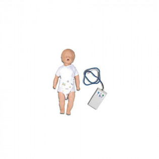 The Simulaids CPR Billy 6-9 Month w/ Electronic Console Box and Bag