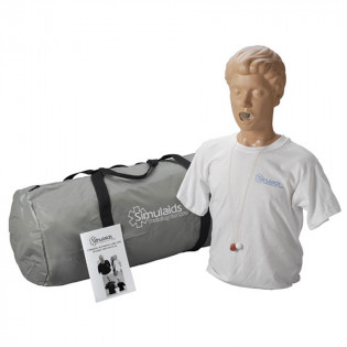 The Simulaids Adult Choking Mannequin