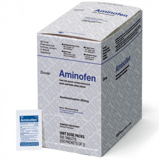 The Dover Aminofen - Acetaminophen 325mg, 500/box