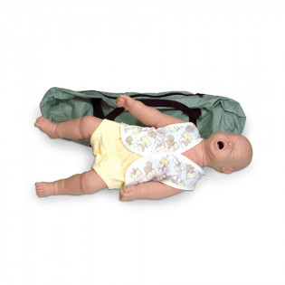 The Simulaids Infant Choking Mannequin w/ Carry Bag