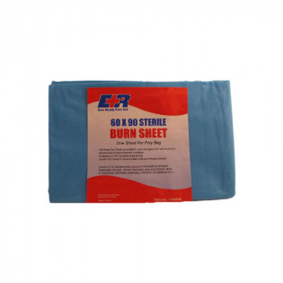 "The Dixie Disposable Sterile Burn Sheet - 60"" x 90"""