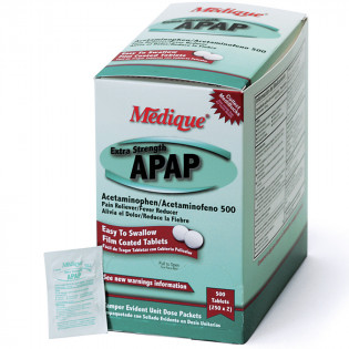 The Medique Extra Strength APAP, 500/box