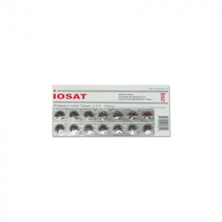 The Iosat Potassium Iodide Tablets USP - 130 mg