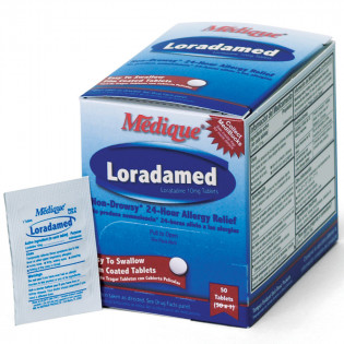 The Medique Loradamed - Non-Drowsy, 50/Bx