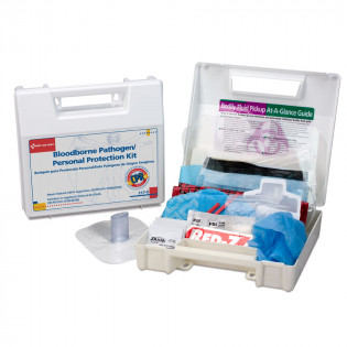 The First Aid Only® blood borne Pathogen/Personal Protection w/ Mircroshield