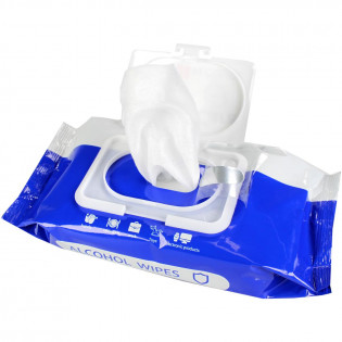 The Alcohol Wipes, Large, 75% Alcohol, 50 Wipes Per Pack