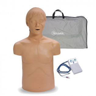 The Simulaids Adam Adult CPR Mannequin w/ Electronics and Carry Bag
