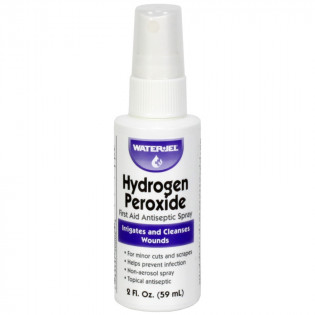 The Water-Jel Hydrogen Peroxide Spray, bottle, 2oz.