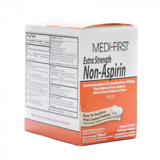 The Medi-First Extra-Strength Non-Aspirin Tablets - 100 Per Box