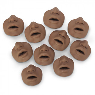 The Simulaids Paul/David Mouth/Nose Pieces - 10 Per Pack