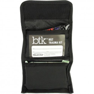 The QuikClot Belt Trauma Kit (BTK) with QuikClot Combat Gauze LE