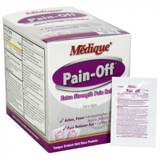 The Pain-Off by Medique Extra-Strength Pain Relief- 100/bx