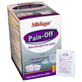 The Pain-Off by Medique Extra-Strength Pain Relief- 200/bx
