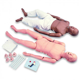 The Simulaids CPR / Trauma Full Body Mannequin - African American