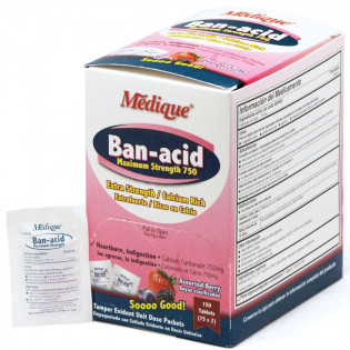 The Medique Ban-Acid, 150/box