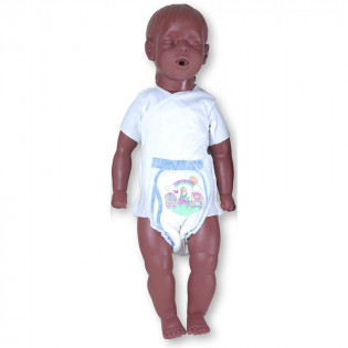 The Simulaids 6 to 9 Month Old Kevin w/ Carry Bag - African American