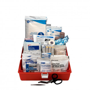 The First Responder Kit, Small 98 Piece Plastic Case